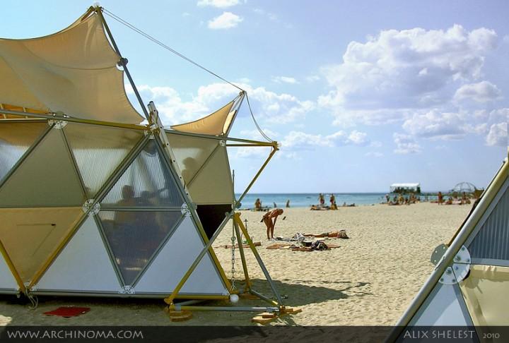 Y-БИО : пляжная инфраструктура