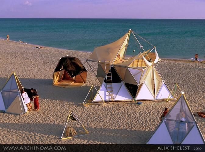 Y-БИО : пляжные домики для отдыха у моря